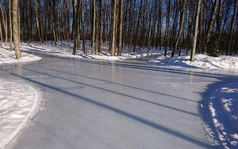 Patinage au Parc Bois de Belle-Rivière