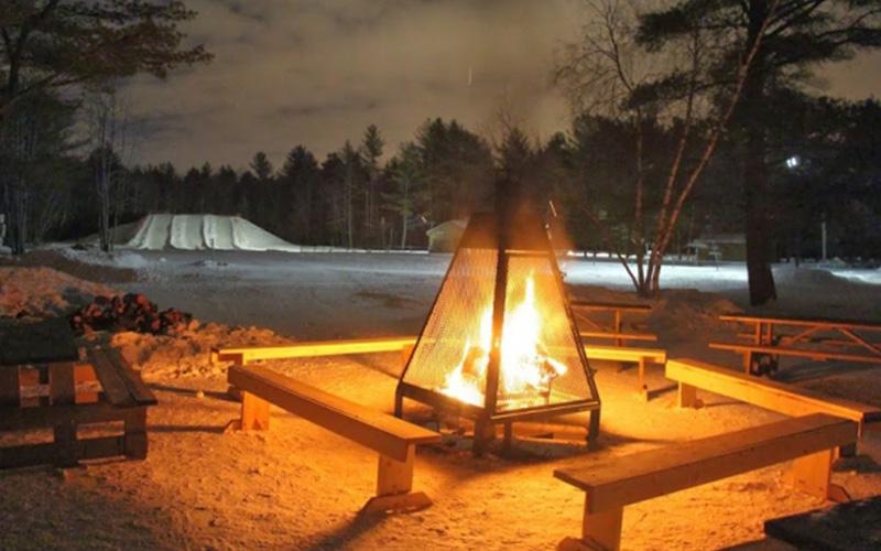 Soirée aux flambeaux au Parc du Domaine Vert