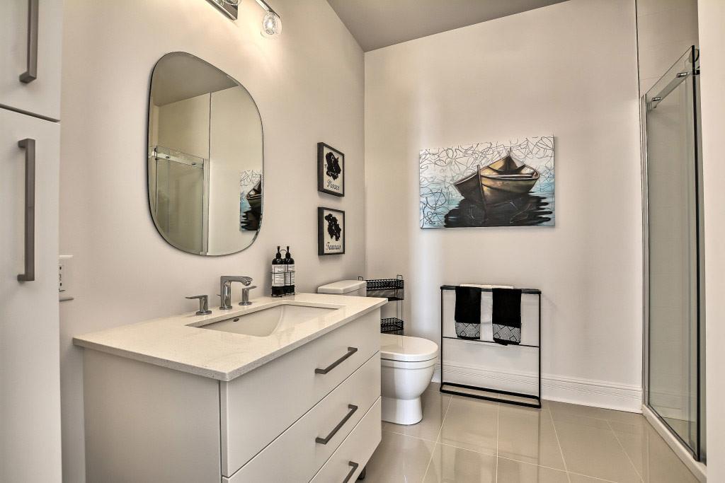 Salle de bain condos 15 Nord Boisbriand